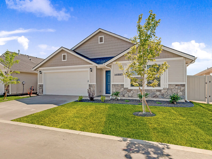 Crestwood_Front_Exterior_New_Homes_Idaho