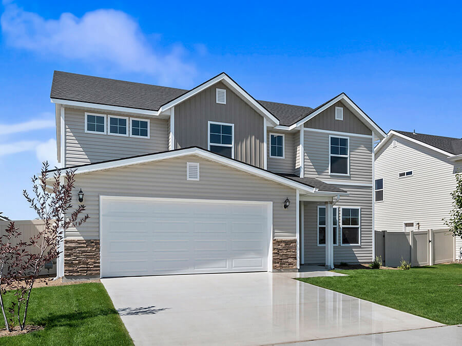 Winchester_Front_Exterior_New_Homes_Idaho