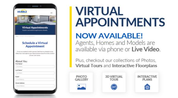 Virtual Appointments Now Available